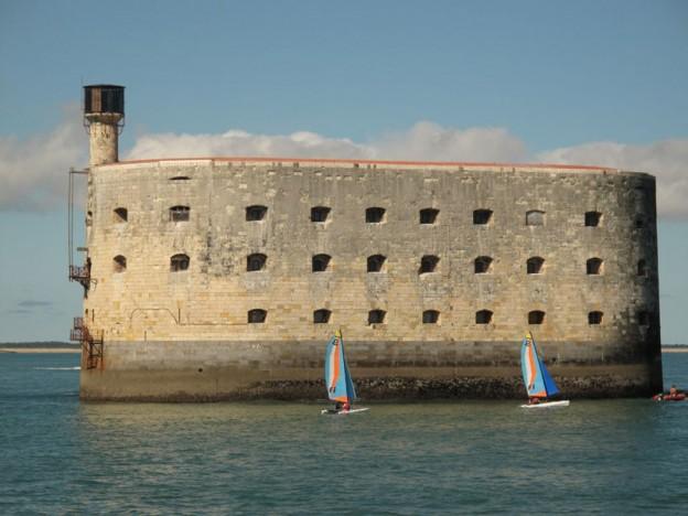 Fort Boyad au large de l'ile d'Oléron