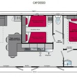 Mobil-home Sabi Grand Large - plan