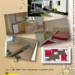 Location mobil home Sabi Primo - chambre - plan - fiche