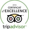 certificat d'excellence camping le sabia